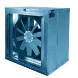 BOX HB - ventilatoare axiale CARCASATE DE TUBULATURA